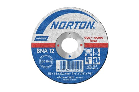 DISCO CORTE DE 9 X 5/64                     NORTON