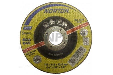 DISCO DESBASTE BDA  680  7 X 1/4       NORTON ESP