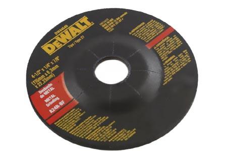 DISCO DESBASTE 4 1/2 X 1/4 X 7/8       DEWALT